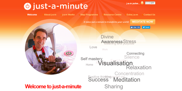 marketing case study world meditation live broadcast and stream
